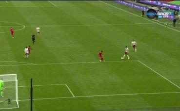 Арсенал - Ливърпул 1:0 /първо полувреме/