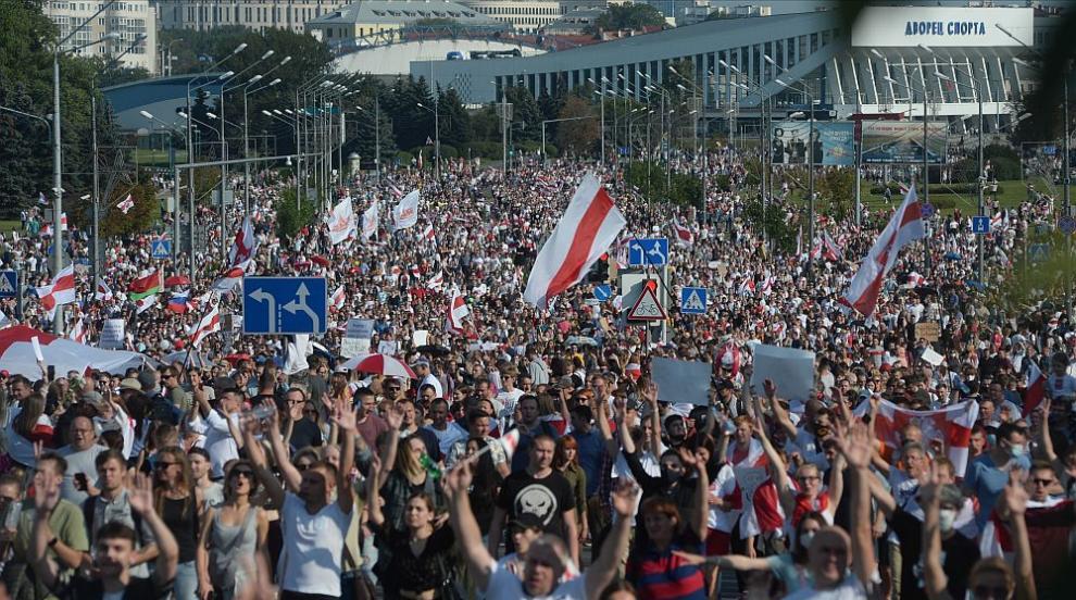 Отново протести и арести в Минск