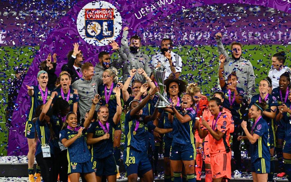 Лион изравни Реал Мадрид в Шампионската лига