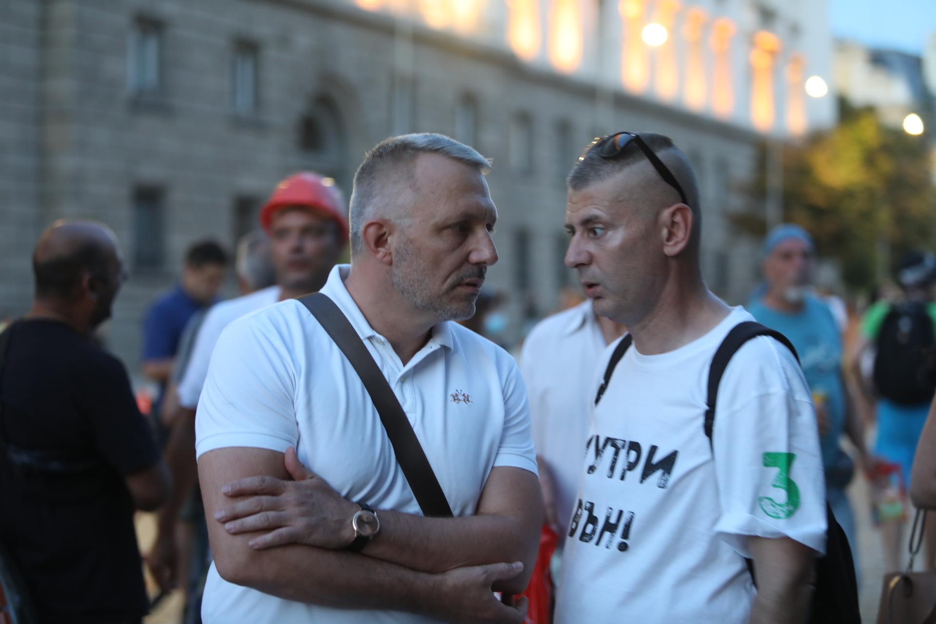 <p>54-ти ден на протести в София</p>