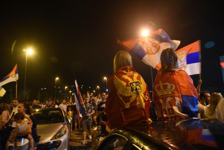 черна гора протест