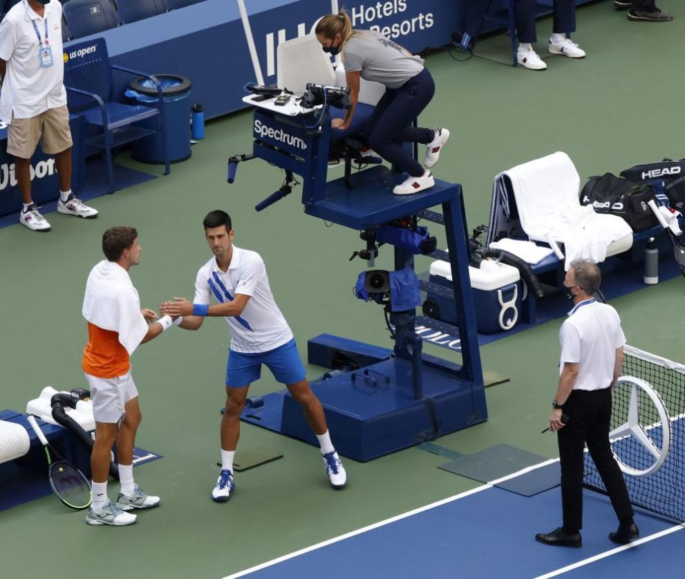 Джокович бе изхвърлен скандално от US Open