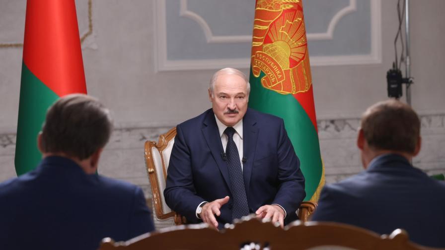 Русия подари на Лукашенко карта - Беларус в Руската империя