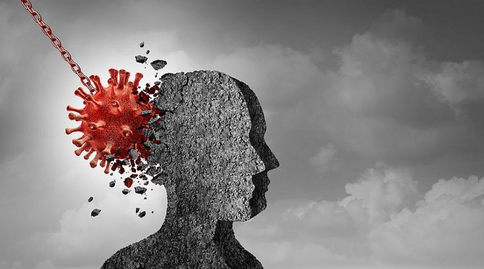 Учени: Коронавирусът може да превземе мозъка