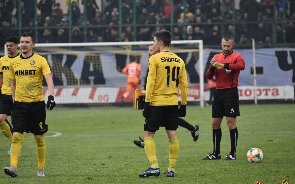 Атакуващият футболист на Ботев Пловдив Станислав Шопов заслужи най-много гласове