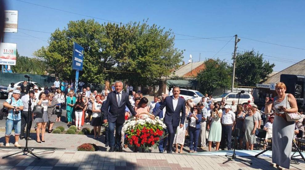 Симеонов откри паметник на Хаджи Димитър в...