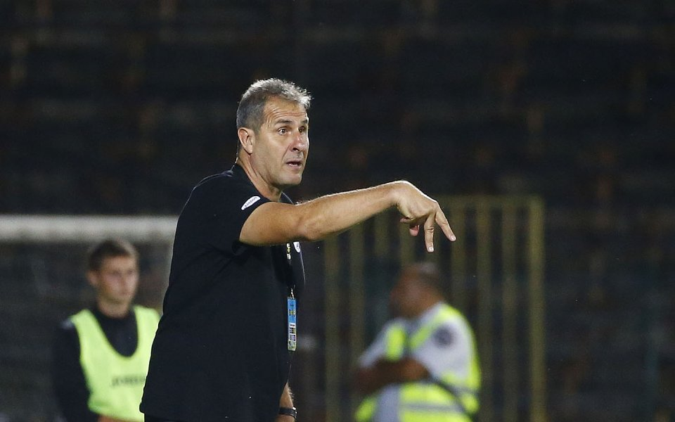 Треньорът на Берое Димитър Димитров говори след загубата от Лудогорец