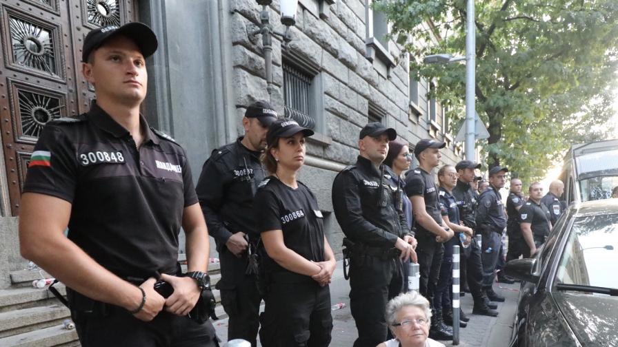 Ден 70 на протестите срещу управляващите