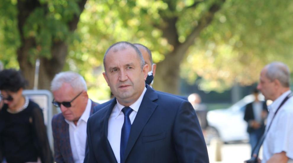 Президентът Румен Радев пристигна в Естония