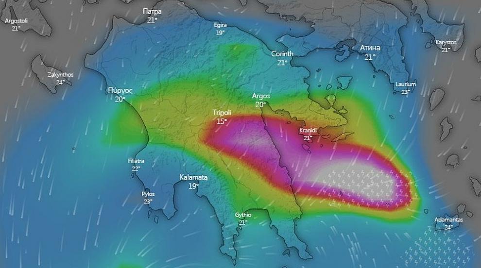 Свръхмощна буря ще вилнее над Гърция два дни