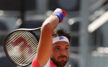 Григор поглежда смело към полуфинала в Рим