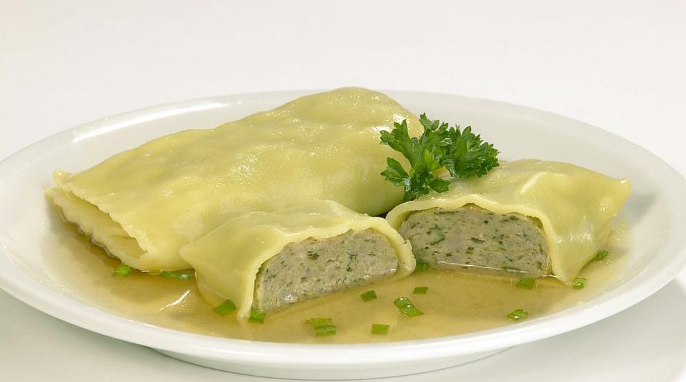 """Паста """"Maultaschen"""" - едно немско ястие, което трябва да..."""