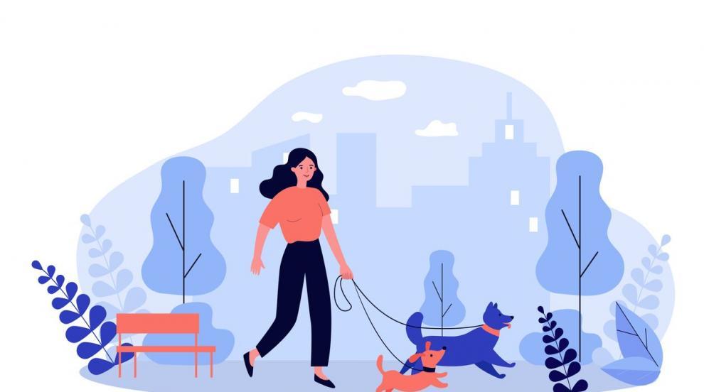 Бъди добрия пример – разходи куче от приют!
