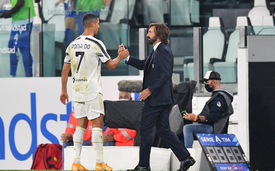 Андреа Пирло стартира като треньор на Ювентус с 3:0 срещу
