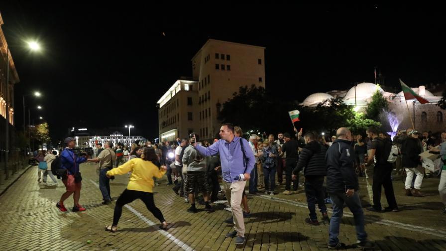 75-ти пореден протест, какво се случва