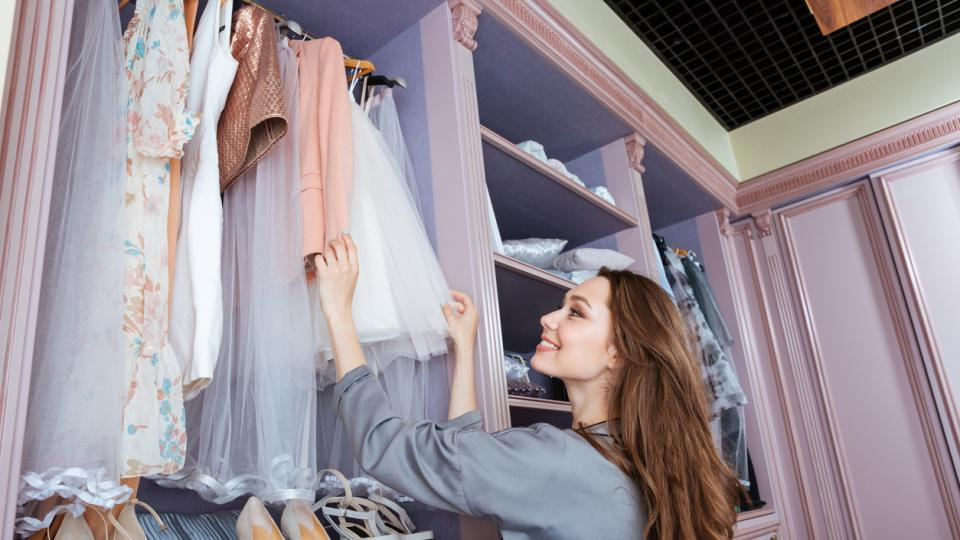жена мода дрехи гардероб