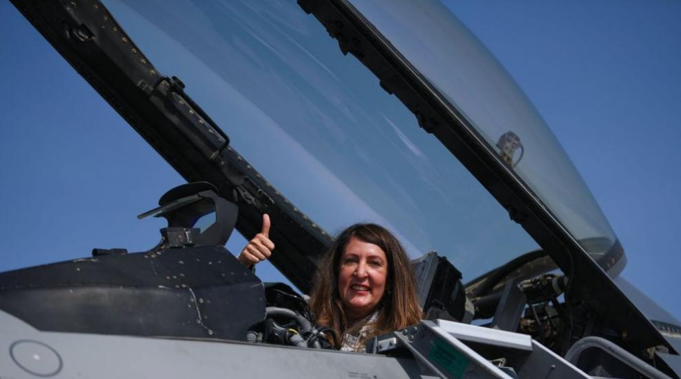 Херо Мустафа: Нашите F-16 са тук за охрана на...