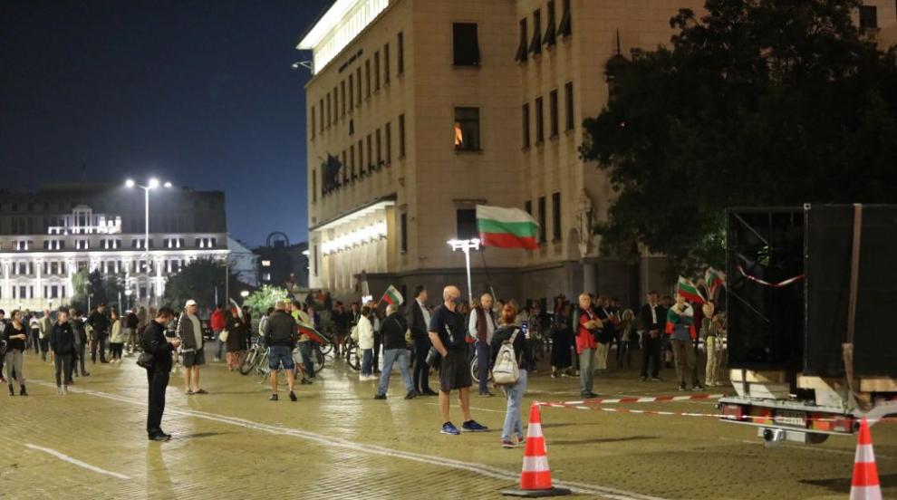 За поредна вечер протест в София (ВИДЕО/СНИМКИ)