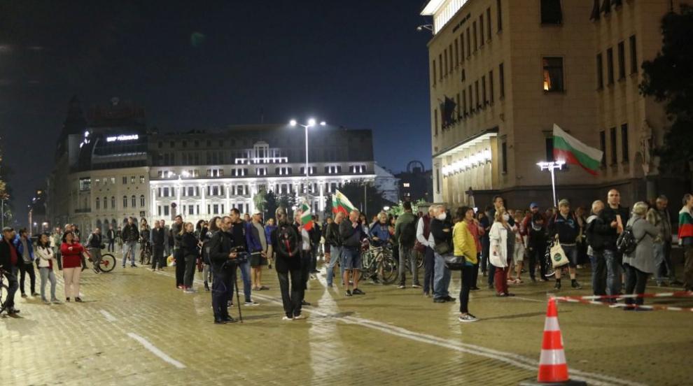 79-та вечер на протести в София (ВИДЕО)