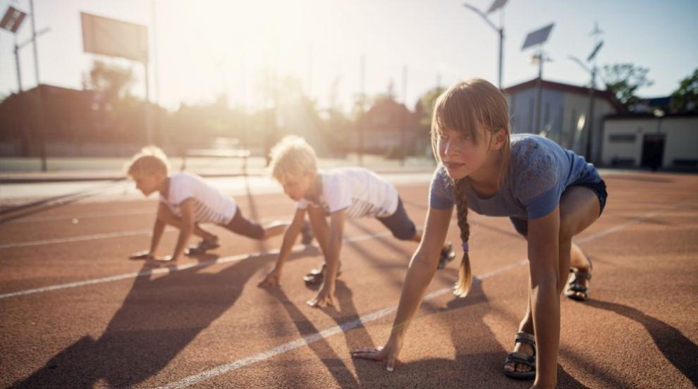 Европейски ден на спорта в училище в Русе