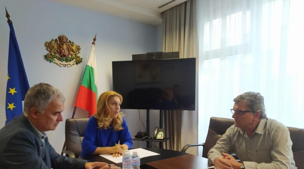 Марияна Николова проведе работна среща с...