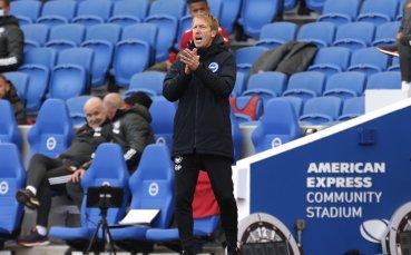 Мениджърът на Брайтън недоволства от решенията на съдията срещу Юнайтед