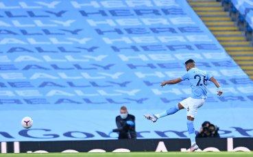 НА ЖИВО: Манчестър Сити 1:0 Лестър Сити