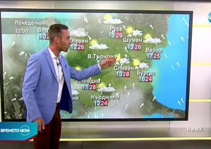 Прогноза за времето (28.09.2020 - сутрешна)