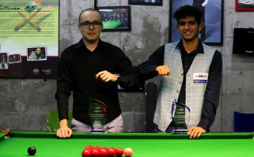 Георги Величков триумфира на Републиканското първенство по снукър