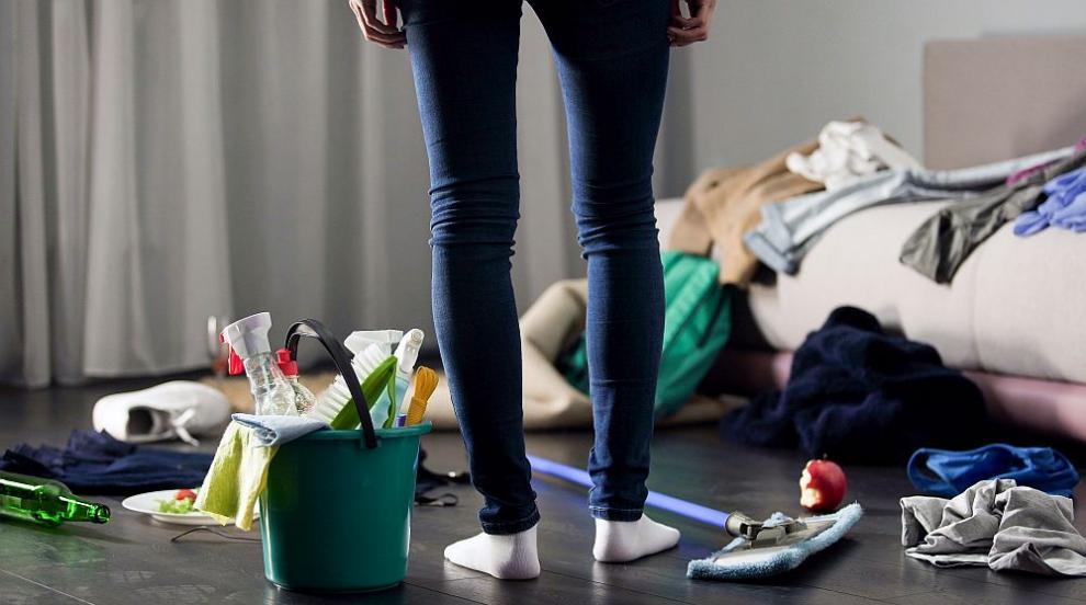 Безпорядъкът вкъщи говори за психологически проблеми