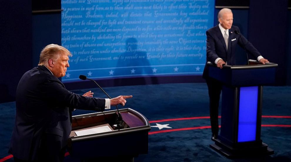 Дебатът Тръмп-Байдън е гледан от 73 милиона души
