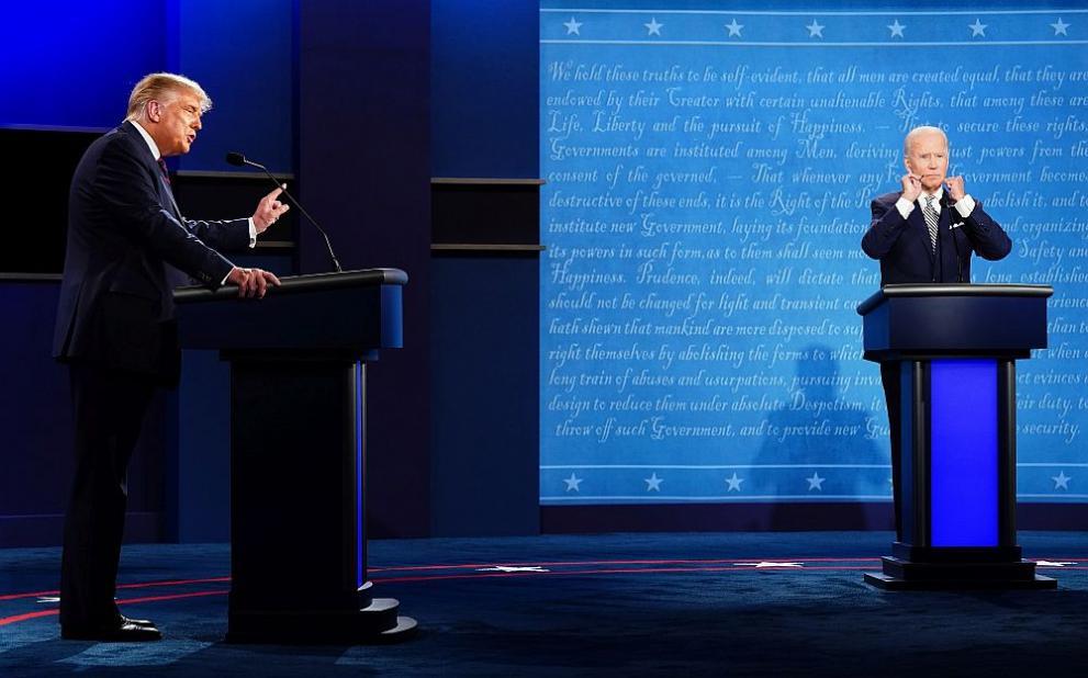 Дебатът Тръмп и Байдън