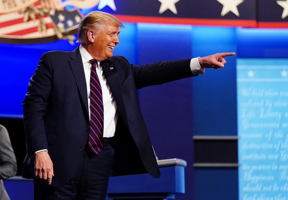 Дебатът Тръмп