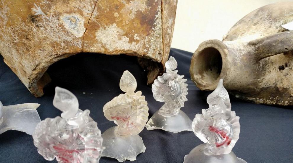 Откриха част от най-голямото потънало стъклено...