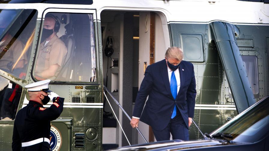 Доналд Тръмп влезе в болница