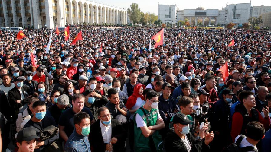 <p>ЦИК на Киргизстан анулира резултатите от изборите&nbsp;</p>