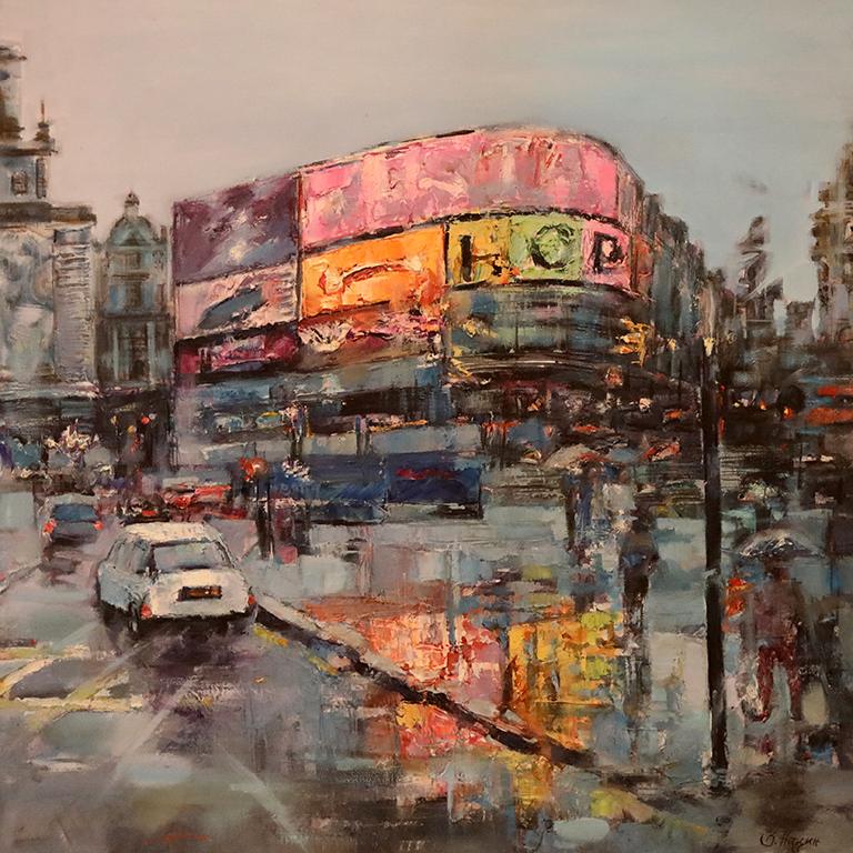 <p>Веселин Нацин - Улица &quot;Флийт&quot;, Лондон</p>