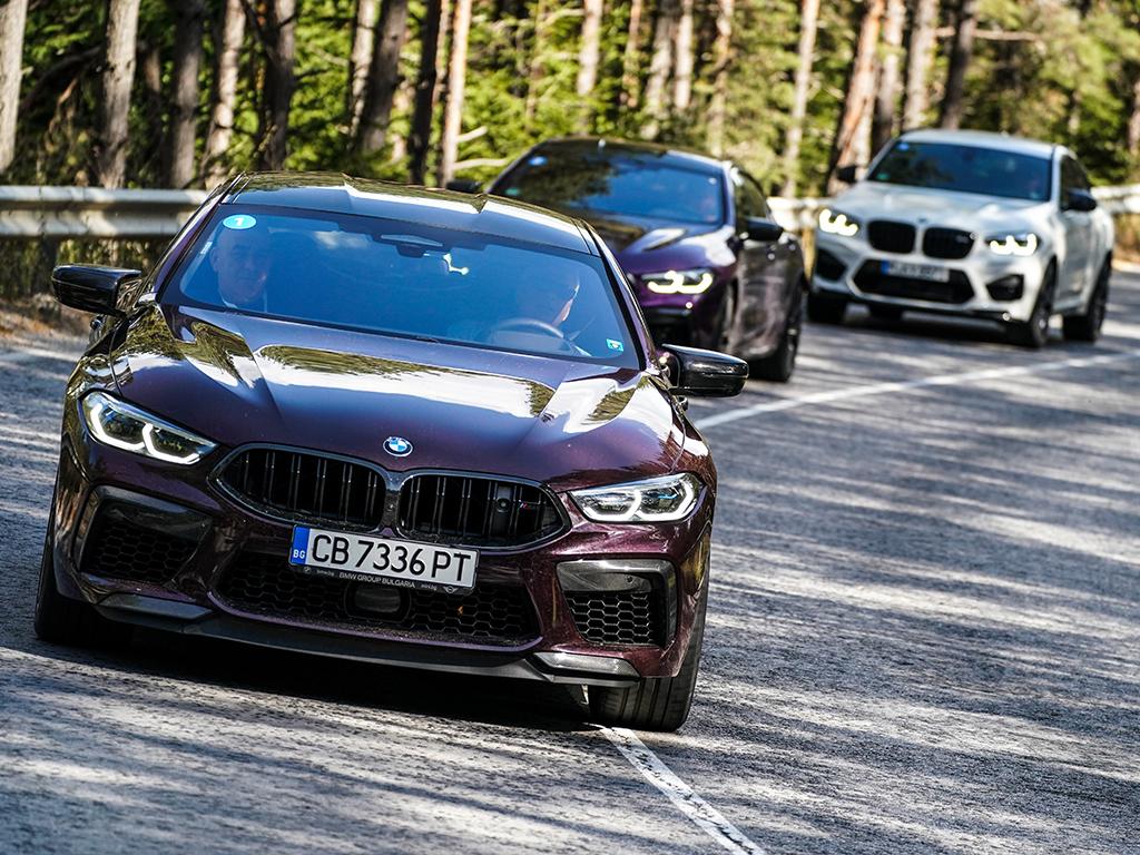 <p>M8 Competition Гран Купе/BMW M Drive Tour</p>