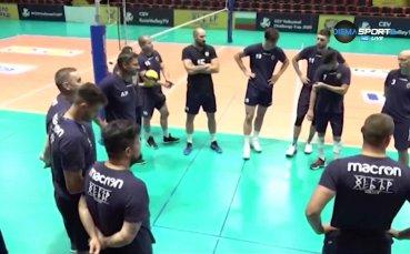 Какво очакват от Хебър преди финала за Суперкупата на България