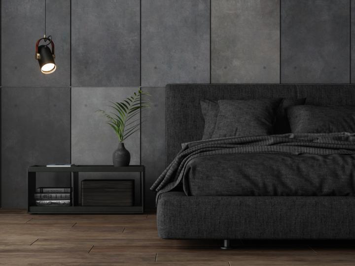 <p><strong>Тъмносиво.</strong>&nbsp;Тъмните цветове предизвикват усещането за мрак и тежест. Това може да потисне желанието за ставане сутрин. Ако все пак предпочитате тъмни цветове, може да боядисате част от стаята с такива, но все пак нека не бъдат основните в спалнята ви.</p>