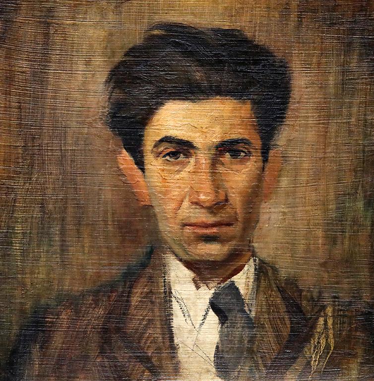 <p>Давид Перец, Портрет на Цанко Лавренов 30-те години на XX век</p>
