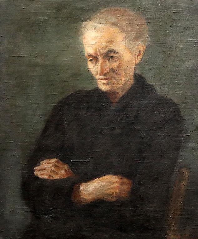 <p>Васил Бараков, Портрет на майка ми Лола Василева Баракова</p>