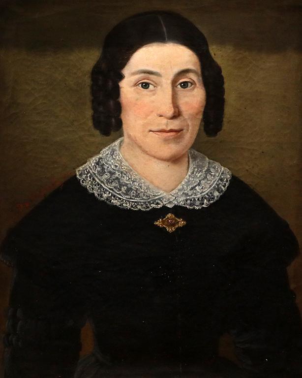 <p>Христо Цокев, Женски портрет, 1875 г.</p>