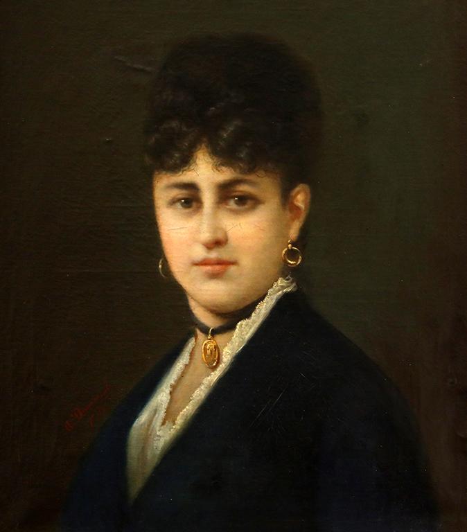 <p>Иван Димитров, Женски портрет, 1891 г.</p>  <p>&nbsp;</p>