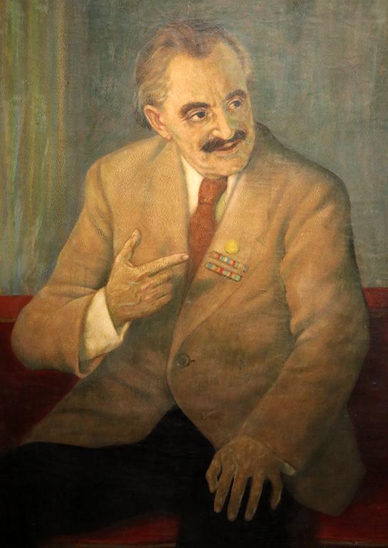 <p>Васил Стоилов, Портрет на Георги Димитров</p>