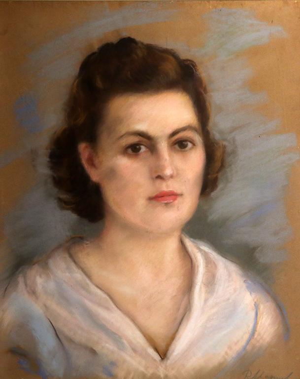 <p>Руска Маринова, Портрет на момиче</p>