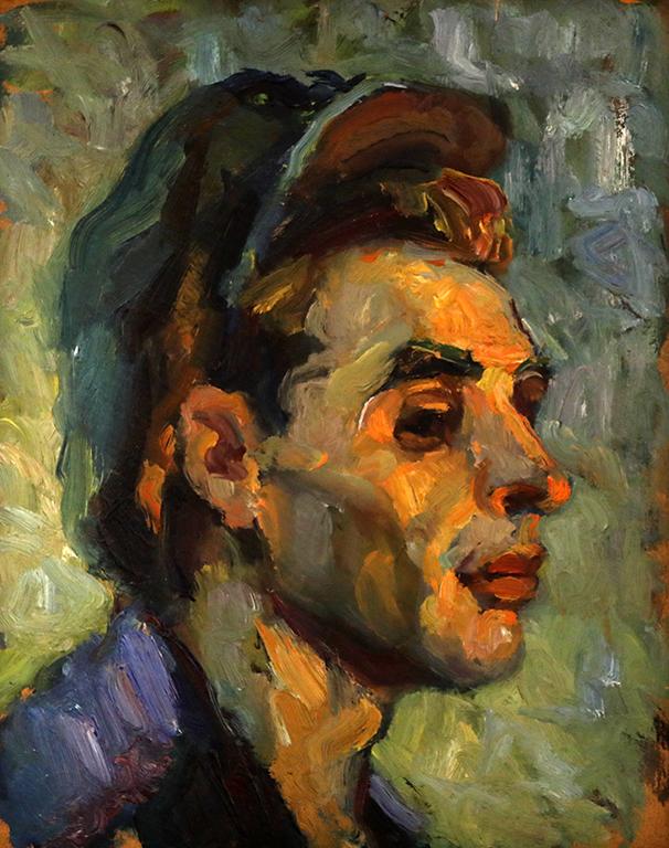 <p>Светлин Русев, Портрет на работник</p>