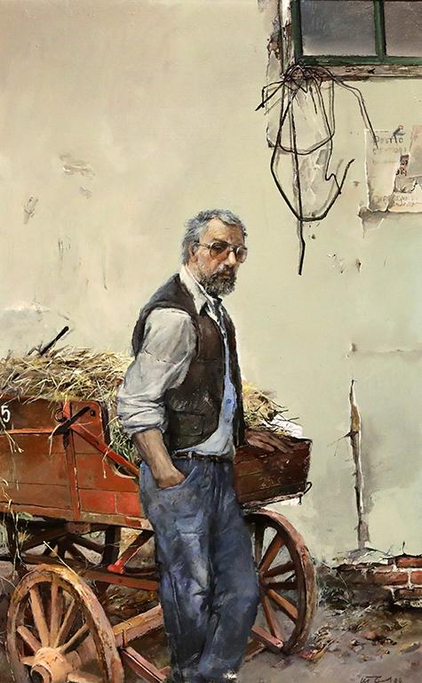 <p>Теофан Сокеров, Автопортрет 1999 г.</p>