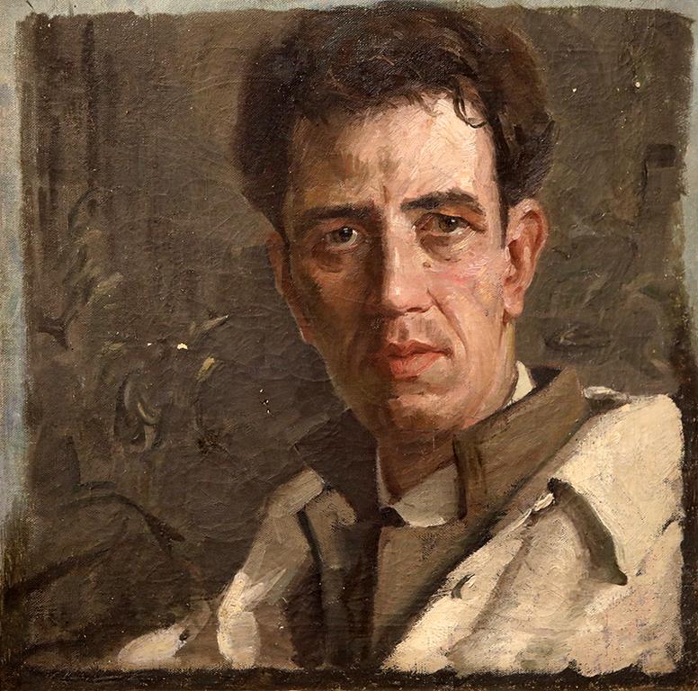 <p>Константин Щъркелов, Автопортрет около 1925 г.</p>