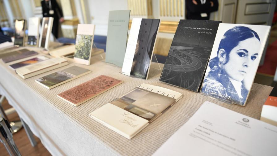 Луиз Глук спечели Нобелова награда за литература